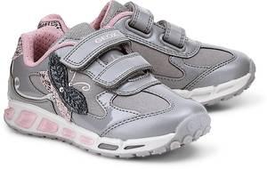 Sneaker J Shuttle G. von Geox in grau für Mädchen. Gr. 27,28,29,30,31,33,34