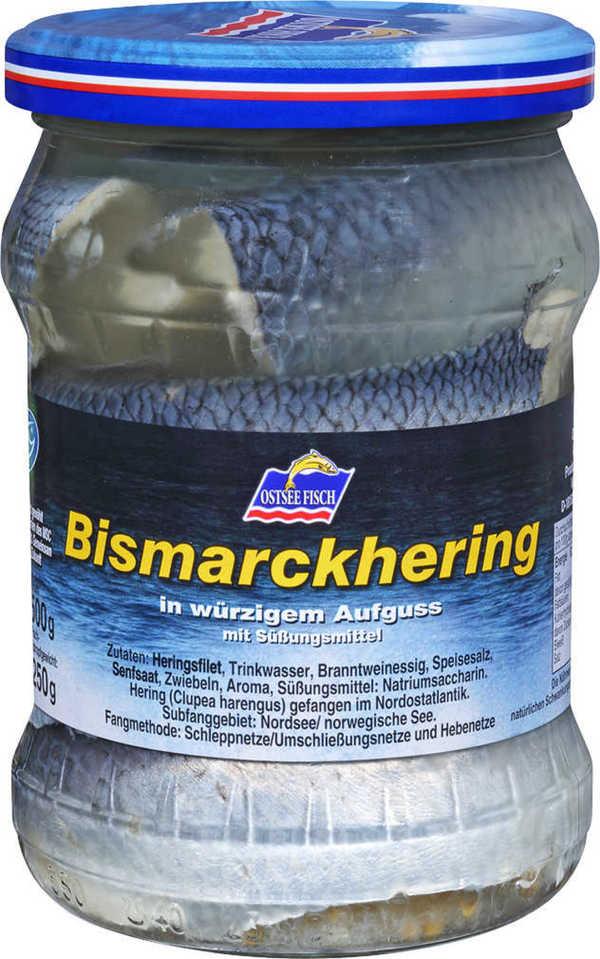 OSTSEE FISCH  Bratheringe, Bismarckheringe oder Rollmöpse