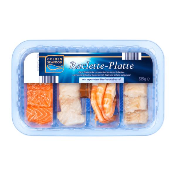 GOLDEN SEAFOOD     Raclette-Platte