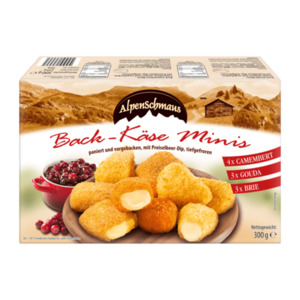ALPENSCHMAUS     Back-Käse Minis