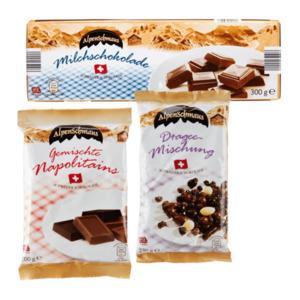 ALPENSCHMAUS     Schweizer Schokolade