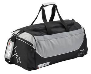 Derbystar Team Sporttasche schwarz-grau