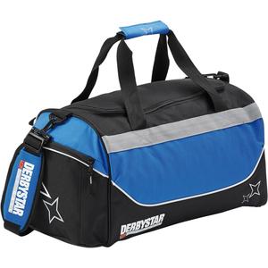 Derbystar Sporttasche Team schwarz/blau 53x27x27 cm