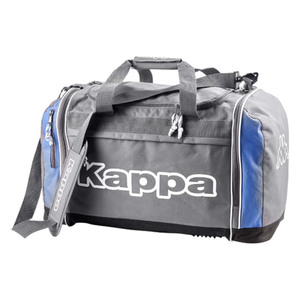 Kappa Sporttasche Sawona, Volumen ca. 50 l, Farbe Grau/Blau