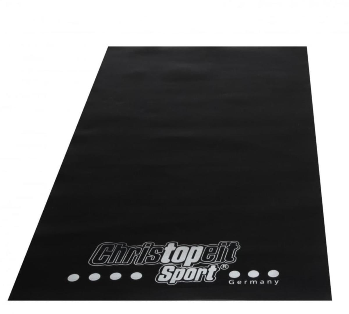 Bild 3 von Christopeit  Laufband TM 2 de Luxe Schwarz/Silber + Bodenschutzmatte