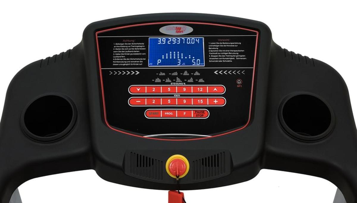 Bild 4 von Christopeit Elektrisches Laufband TM 550S bis 18kmh + Bodenschutzmatte