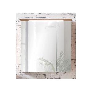CASAVANTI Spiegelschrank ZADAR Silberfichte Nachbildung ca. 70,5 x 72,5 x 16 cm