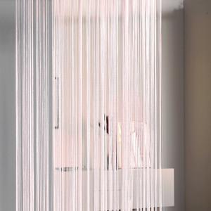Fadenvorhang (90x245, rosa)