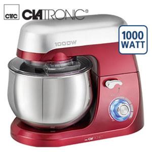 Küchenmaschine KM 3709 • stufenlose elektron. Geschwindigkeitsregelung + Puls-Funktion • schwenkbarer Multifunktionsarm • bedienungs- und reinigungsfreundlich