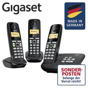 Schnurlos-DECT-Telefon AL225A · Freisprech- und CLIP-Funktion · Telefonbuch für bis zu 80 Einträge · digitaler Anrufbeantworter