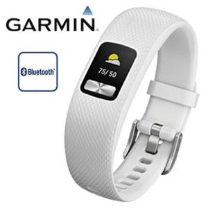 Fitness-Armband vivofit® 4 · Schrittzähler, Kalorienverbrauch, Schlafüberwachung · Farbdisplay mit permanenter Anzeige · bis zu 1 Jahr Batterielaufzeit · wasserdicht bis 5 ATM