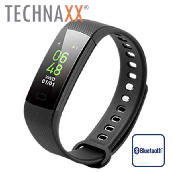 Fitness-Armband TG-HR2 · zur Überwachung von: Herzfrequenz, Blutdruck, Fitness, Aktiv- und Ruhepausen · Smartphone-Push-Benachrichtigungen