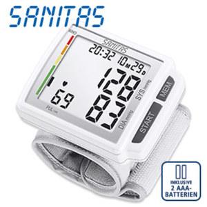 Blutdruckmessgerät SBC 41 • vollautom. Blutdruck- und Pulsmessung am Handgelenk • erkennt Herzrhythmusstörungen • 60 Speicherplätze • inkl. Batterien