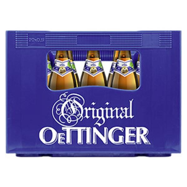 Oettinger Pils, Export, Alkoholfrei oder Radler 20 x 0,5 Liter