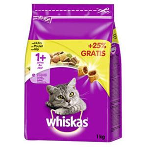 Whiskas Katzen-Trockennahrung versch. Sorten, jede 800-g-Packung