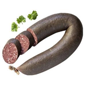 Omas Blutwurst im Ring, traditionell, kräftig, deftig, je 100 g