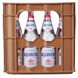 Aquintus Mineralwasser versch. Sorten, 12 x 0,7 Liter