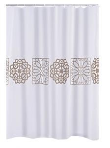 Ridder Duschvorhang Textil 180x200 cm Tunis
