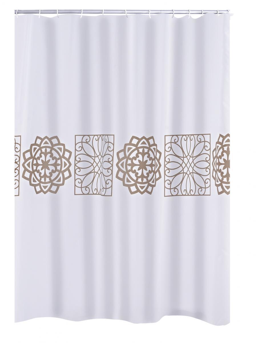 Bild 1 von Ridder Duschvorhang Textil 180x200 cm Tunis