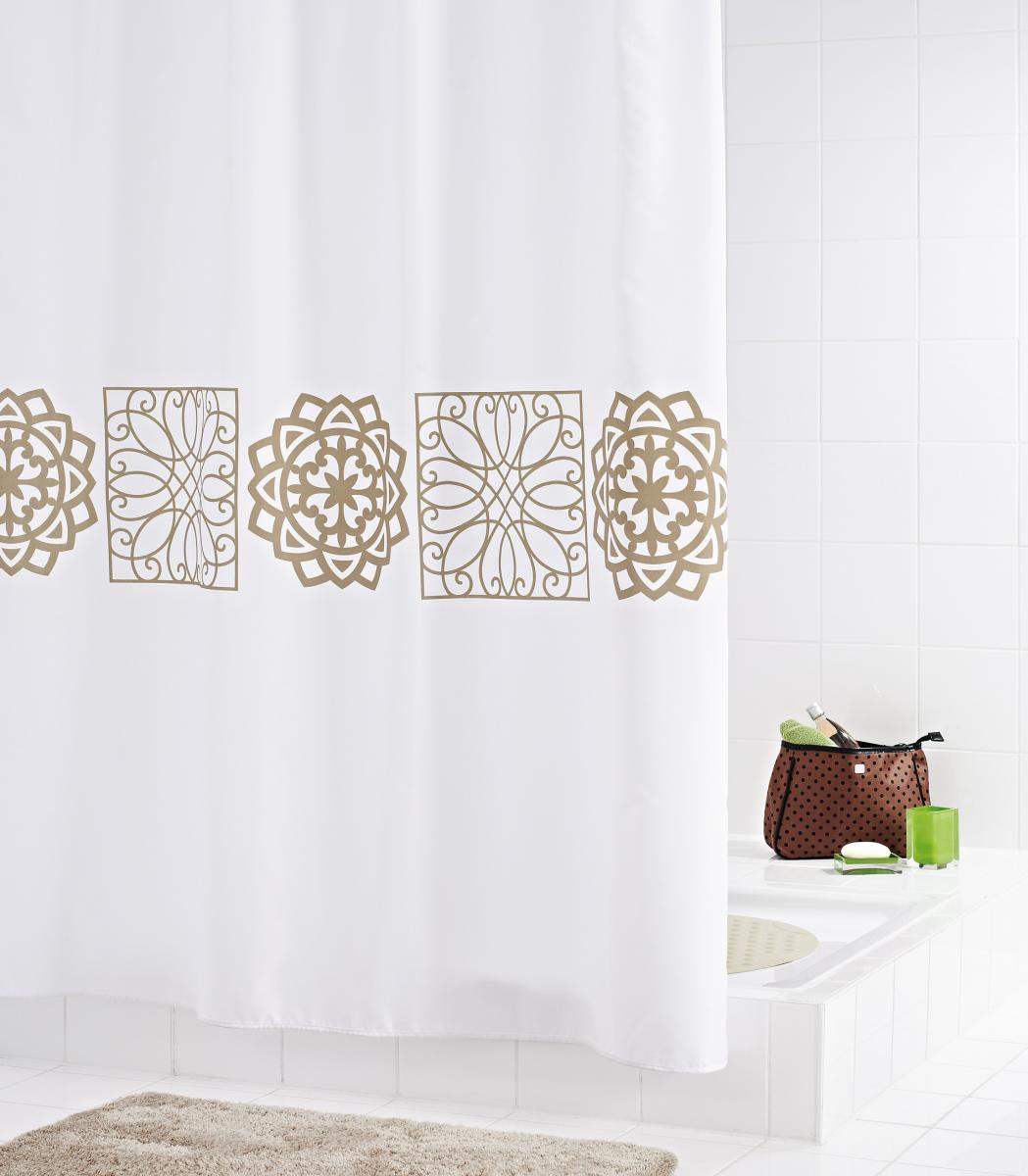 Bild 2 von Ridder Duschvorhang Textil 180x200 cm Tunis