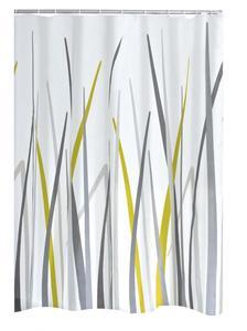 Ridder Duschvorhang Textil 180x200 cm Gras grün