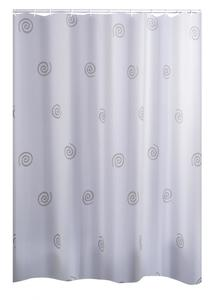 Ridder Duschvorhang Textil 240x180 cm Univers grau