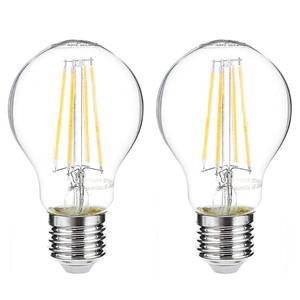 I-Glow LED-Leuchtmittel Filament 360° - Birne, 7 Watt, E27, klar 2er Set