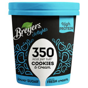 Breyers Delights Cookies & Cream Eis 500ml