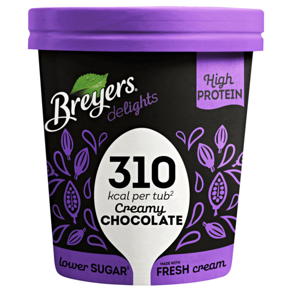 Breyers Delights Creamy Chocolate Eis 500 ml