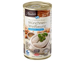 HERZHAFTE Alpenküche Weißwurst oder Saftwürstl