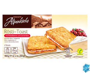 HERZHAFTE Alpenküche Rösti-Toast