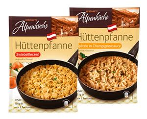 HERZHAFTE Alpenküche Hüttenpfanne