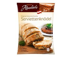 HERZHAFTE Alpenküche Serviettenknödel