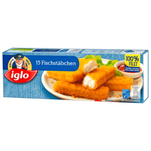 Iglo 15 Fischstäbchen