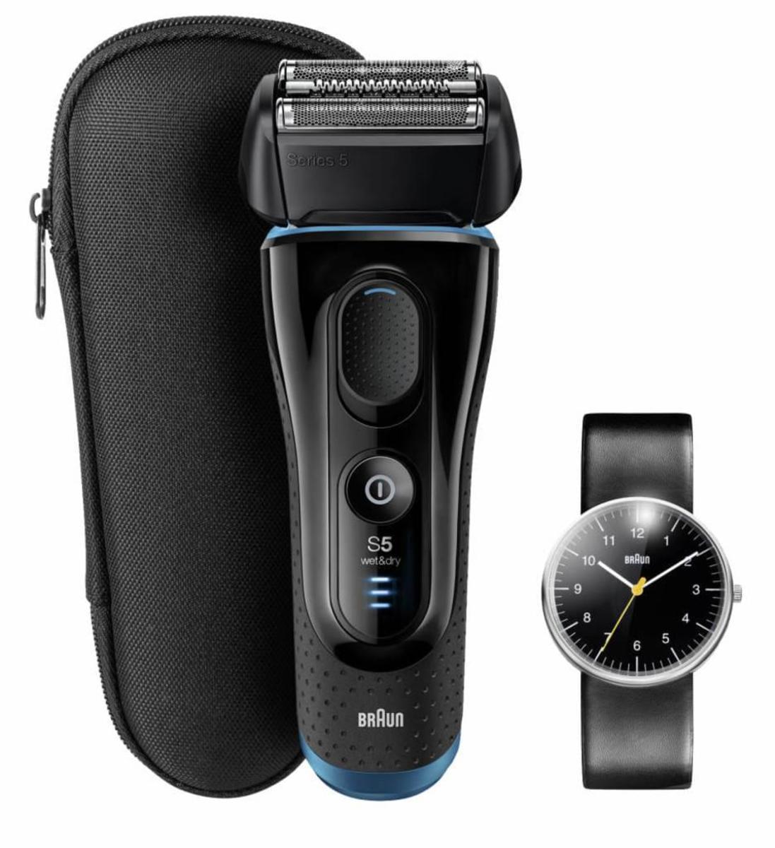 Bild 4 von Braun Rasierer Series 5 Limited Edition, inklusive Original Braun Uhr im Wert von 135,00 € (UVP)
