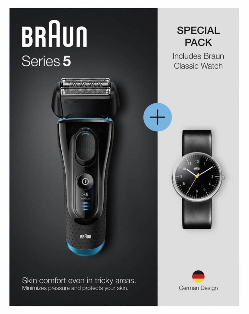 Bild 5 von Braun Rasierer Series 5 Limited Edition, inklusive Original Braun Uhr im Wert von 135,00 € (UVP)