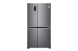 LG GSB470BASZ, Freistehend, Graphit, American door, LED, Berührung, LED