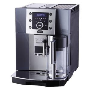 Delonghi ESAM 5500 Perfecta Kaffeevollautomat, Espressomaschine, Kunststoff, LED-Infodisplay, 1350 Watt, 15 Bar, 1,7 l F?llmenge, 120 g Bohnenbeh?lter, Tassenw?rmer, Zeitschaltuhr, Einstellbare Br?ht