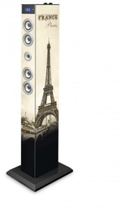 BigBen Sound Tower TW6 mit Dockingstation für iPhone/iPod/Android und Bluetooth Paris