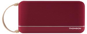 Thomson WS02 Retro Bluetooth Lautsprecher 12 Watt metallig rot