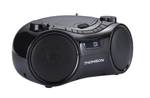 Thomson RCD210UBT, Digital, FM, Spieler, LCD, Schwarz, Knöpfe
