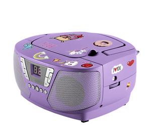 Bigben Interactive CD60UNICORNSTICK, FM, CD-Audio, Portable CD player, Violett, 1 Disks, Weiter, Pause, Spielen, Zurück, Programm, Wiederholung, Wiederhole alle, Wiederhole einen, Stopp