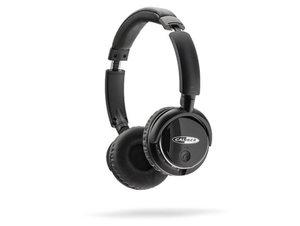 Caliber über Ohr Kopfhörer Mit Bluetooth/ Aux/ Micro SD und UKW-Tuner in schwarz, MAC 502BT/B
