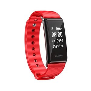 Huawei Color Band A2, Wristband activity tracker, Schwarz, Rot, Kunststoff, Berührung, IP67