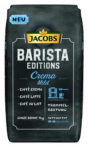 Jacobs Barista Editions Crema Mild | ganze Bohne | 1000g