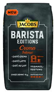 Jacobs Barista Editions Crema Intense | ganze Bohne | 1000g
