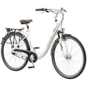 Viking Prelude 28 Zoll Citybike Stadt Fahrrad Licht 8 Gang Nexus + Federgabel