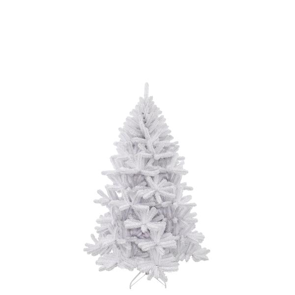 Triumph Tree Icelandic Pine Iridescent künstlicher Weihnachtsbaum 343 Tips - Farbe: Weiß - Höhe: 155 cm - Ø 94 cm; 788615