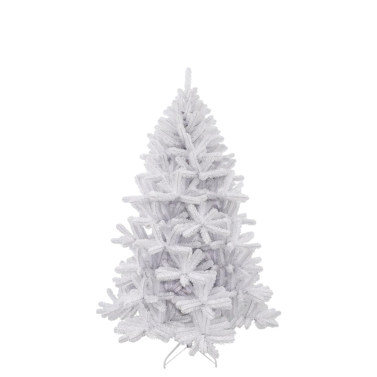 Bild 1 von Icelandic Weihnachtsbaum weiss irisierend TIPS 611 - h185xd119cm