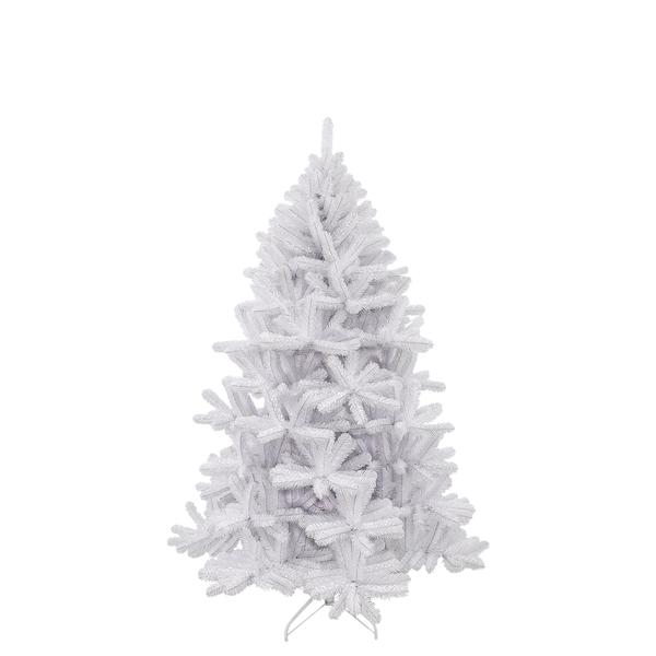 Icelandic Weihnachtsbaum weiss irisierend TIPS 611 - h185xd119cm
